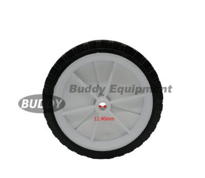 50024 – 7″ x 1.50″ Universal Plastic Wheels Hub Width 1-3/8″ centrebore 1/2″ 70 lbs Load Rating