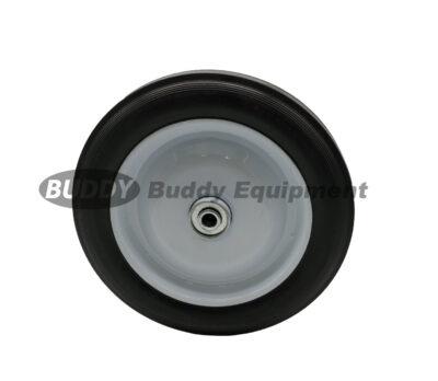 50036 – 10″ x 1.75″ Universal Steel Wheels Rib Tread Hub Width 2″ Centered. Bore 1/2″ Bearing