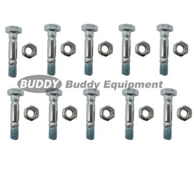 58442 – (10) Shear PINS & Bolts for MTD Cub Cadet Troy-Bilt 710-0890 710-0890A 910-0890A